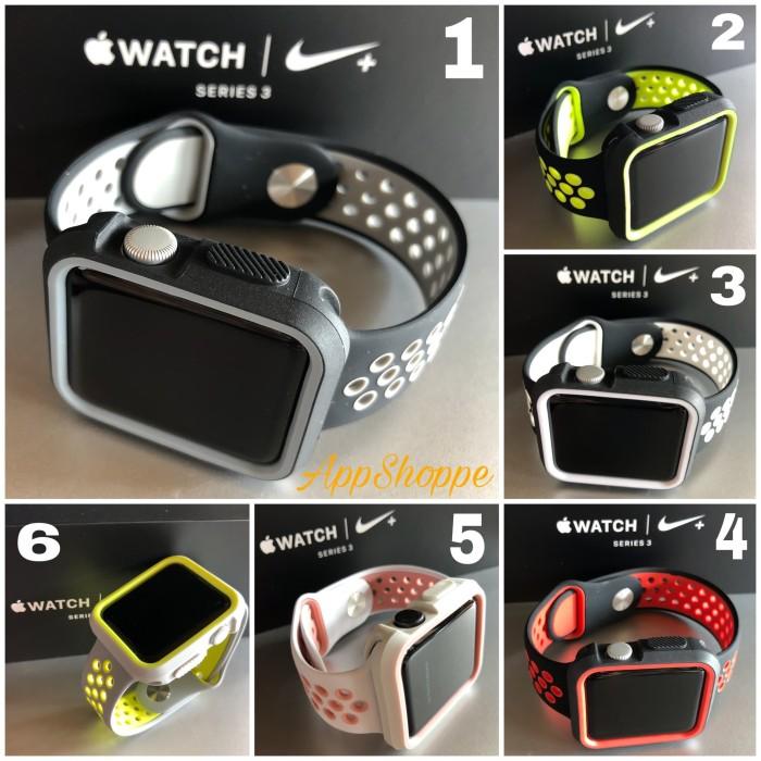 Foto Produk Apple Watch Strap iWatch 42mm NIKE DESIGN BUMPER + STRAP Wristband dari AppShoppe