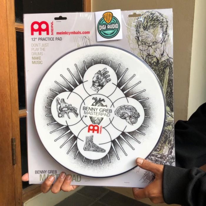 harga Meinl mpp 12 bg 12 inch masterpad benny greb practice pad / drum pad Tokopedia.com