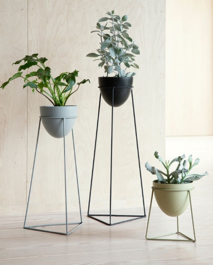 Standing Planter Segitiga | Custom Rak | Rak Pot Murah | Rak Minimalis