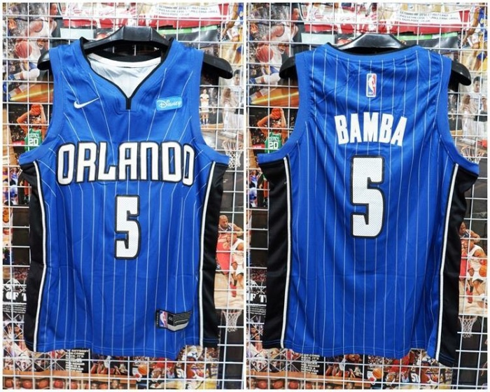 newest 9c4b0 e8ea2 Jual Jersey Basket Swingman Orlando Magic Bamba Biru 2018 2019 - Kota Batam  - RR7 Shop | Tokopedia