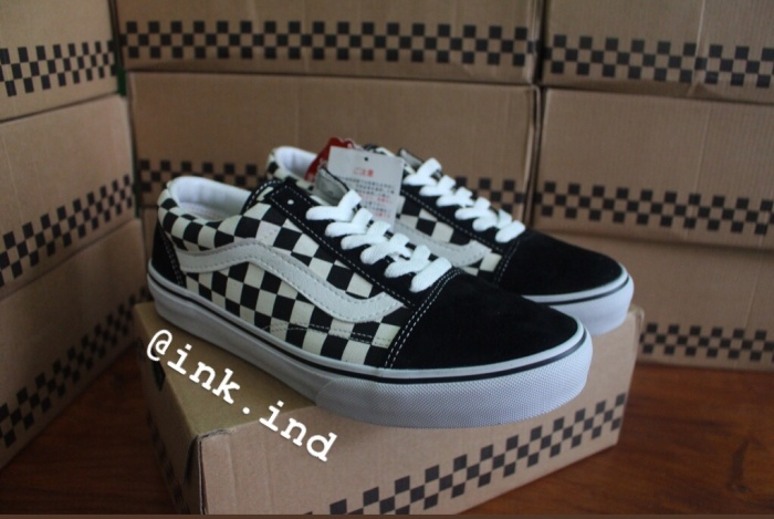 Jual Vans Old Skool Checkerboard Japan Market Original Dapet Bonus ... 479a02930