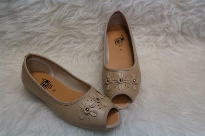 harga Sepatu flat shoes wanita hem - 6312 Tokopedia.com