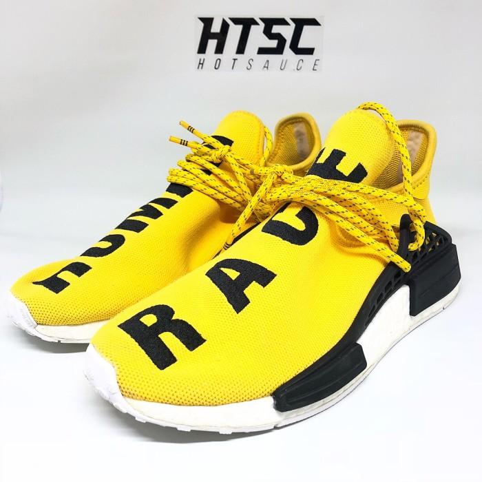 the best attitude 5d52c 90b57 Jual Adidas NMD Human Race Pharrel Yellow OG (not nike off white jordan nmd  - DKI Jakarta - HotSauceID | Tokopedia