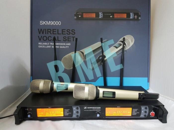 harga Mic wireless sennheiser skm 9000/9045 . (4a) Tokopedia.com