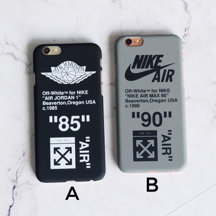 huge discount ff3cc bebc6 Jual Supr X Nike Air Off White Case Iphone 6 6S 6+ 6S+ 7 7+ 8 8+ X XS -  Kota Bandar Lampung - 24store_janapple | Tokopedia