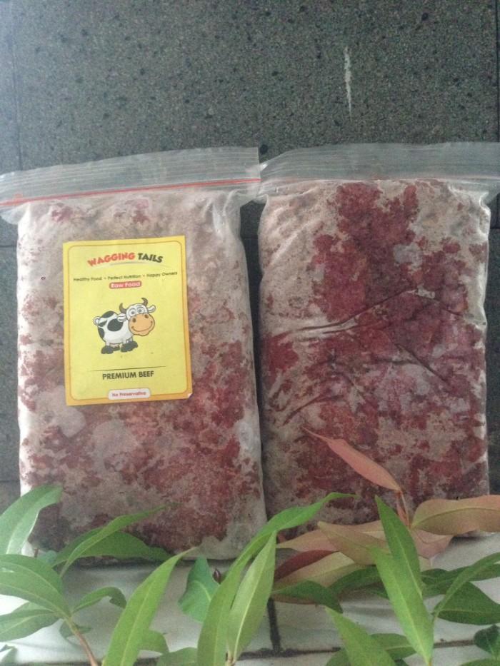 Foto Produk RAW FOOD - PREMIUM BEEF dari WAGGING TAILS PETCARE