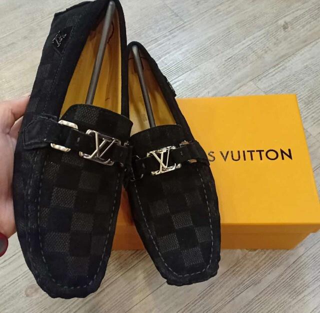 Jual Sepatu Loafers Lv Branded Louis Vuitton Pria - second stuffers ... 731fa97936
