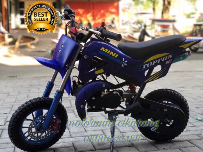 harga Motor mini trail mt1 new 50cc mesin 2tak Tokopedia.com