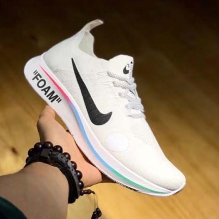 5de8627d82d0 Nike zoom fly mercurial x off white white premium original   sneakers