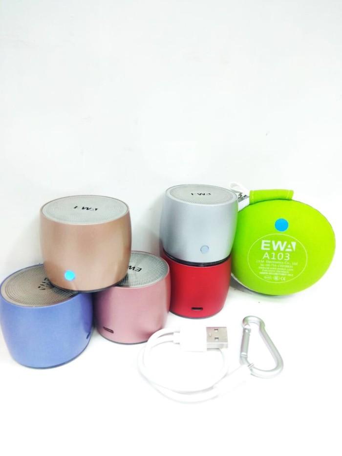 harga Speaker bluetooth mini ewa a103 Tokopedia.com