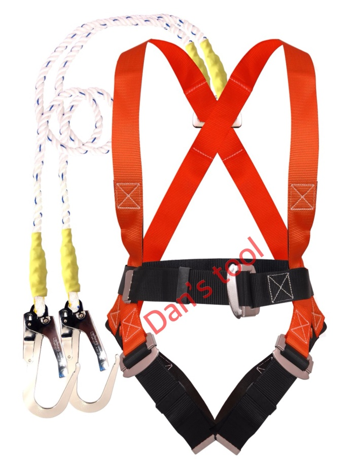 harga Safety belt full body / body harness double hook besar Tokopedia.com