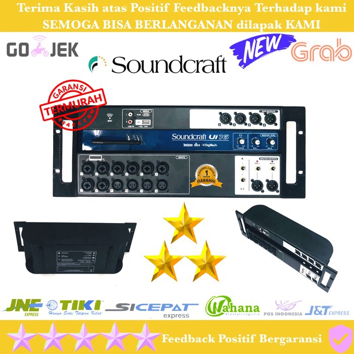 harga Digital mixer soundcraft ui 16 for android - ios Tokopedia.com