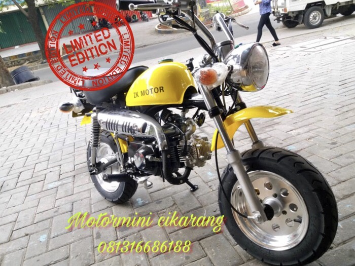 harga Motor mini trail monkey 125cc / gorilla honda / motor mini classic Tokopedia.com