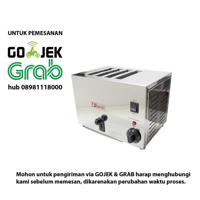 harga Fomac btt-s4a oven toaster bread panggangan roti tawar 4 slot Tokopedia.com