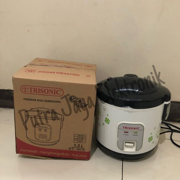Magic Com 1,2Lt Trisonic T707N / Rice Cooker / Penanak Nasi