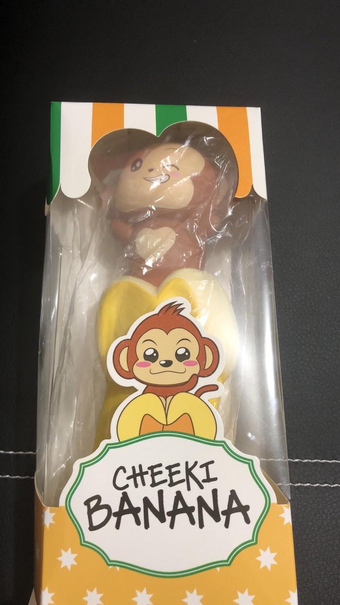 Jual Squishy Pisang Dengan Monyet Diatasnya Jakarta Barat SQUISH IT