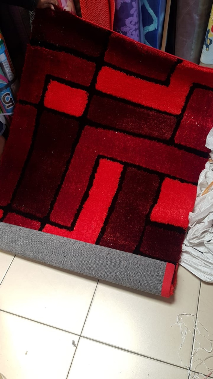 Jual Karpet Permadani Cek Harga Di Stardust Zebra 100x150 Shaggy Bulu Halus Import Uk 100x150cm