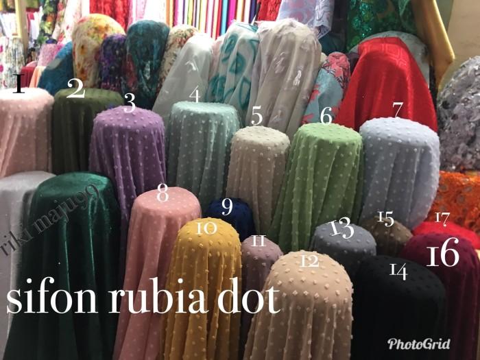 harga Kain sifon rubia/bahan kerudung gamis dress rubiah dot Tokopedia.com