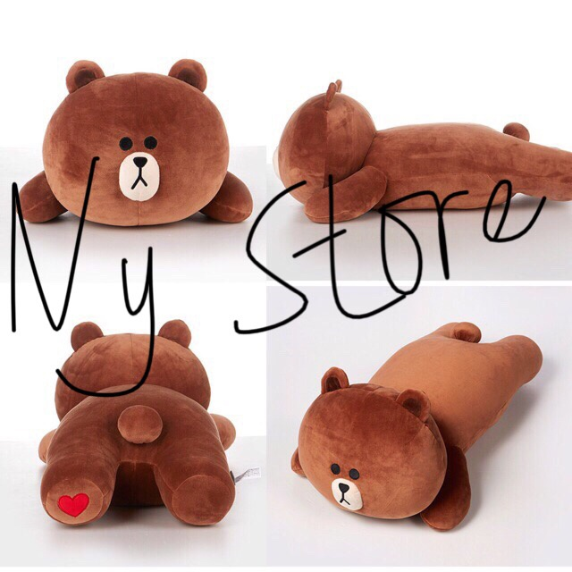 Jual Boneka Brown   Cony Lay VERY SOFT Line Friends Import Quality ... 5700020ee1
