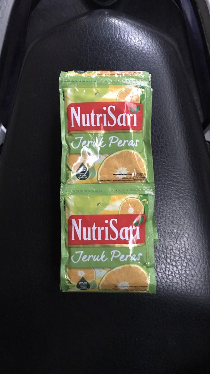 Jual Nutrisari Jeruk Peras 1 Renceng 10 Sachet Sashet Saset Pcs Jakarta Selatan Ben Motoshop