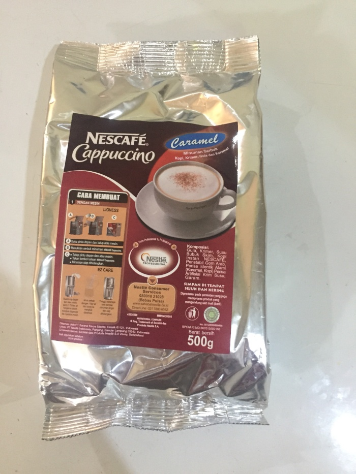 Foto Produk Nescafe Cappucino Caramel 500gr dari Kalimantan Toko