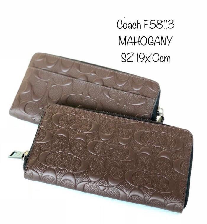 sale retailer c518a 35a59 Jual READY. COACH F58113 MAHOGANY SZ 19x10cm - Kota Tangerang Selatan -  Oshop Authentic store | Tokopedia