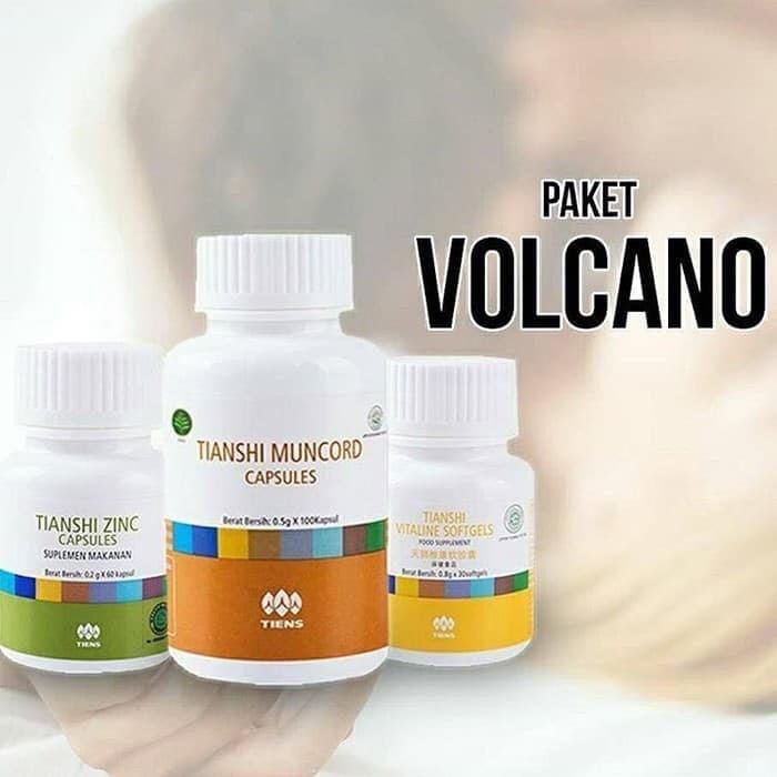Foto Produk Tiens original bpom paket volcano stamina muncrod vitaline zinc asli dari kinarikinarai herbal