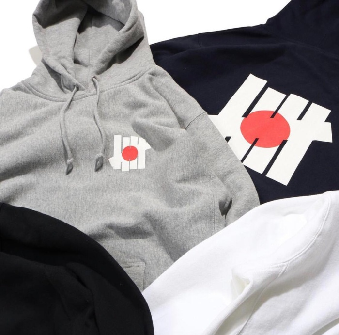 a8d00f72 UNDEFEATED UNDFTD RISING SUN ICON PULLOVER HOODIE AUTHENTIC ORIGINAL