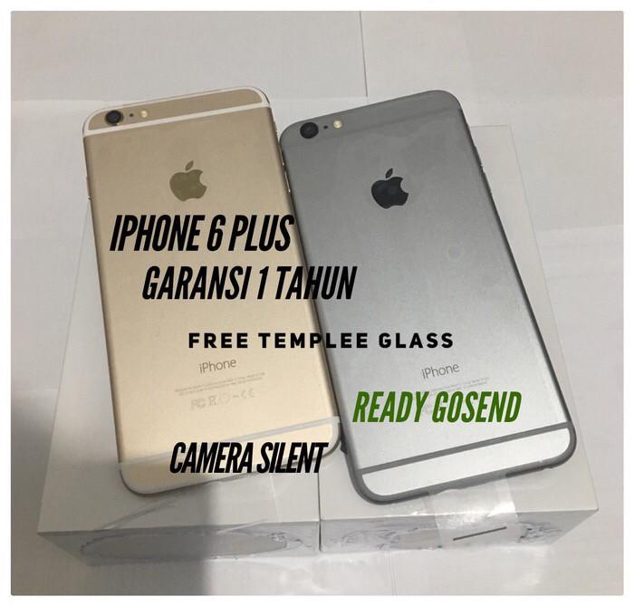 harga Iphone 6 plus 64 gb grey garansi 1 thn jaminan original Tokopedia.com