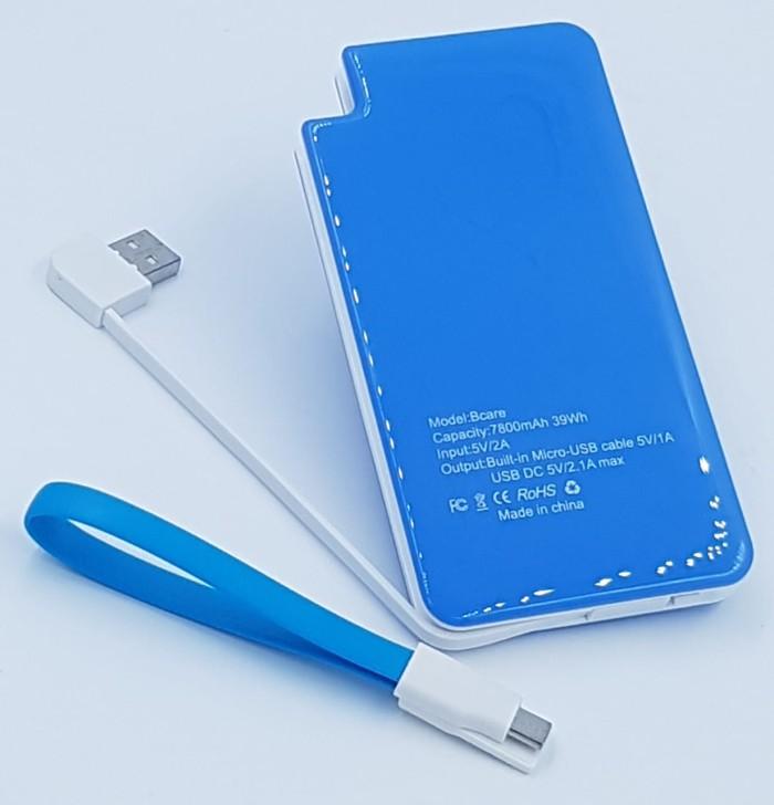 Powerbank bcare real capacity 7800mah biru original. Source · Powerbank Bcare 7800mAh 3.7V Original