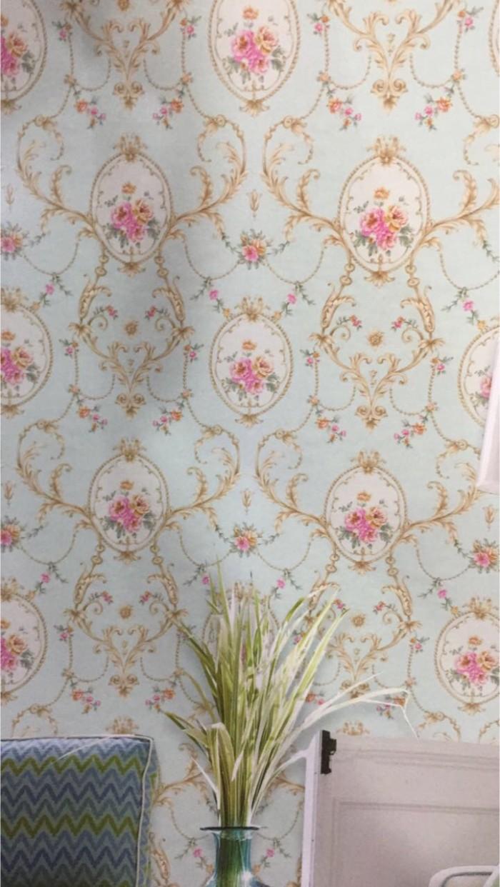 Jual Wallpaper Dinding Motif Bunga Klasik Mewah Kota Bekasi Wallpaper Diskon