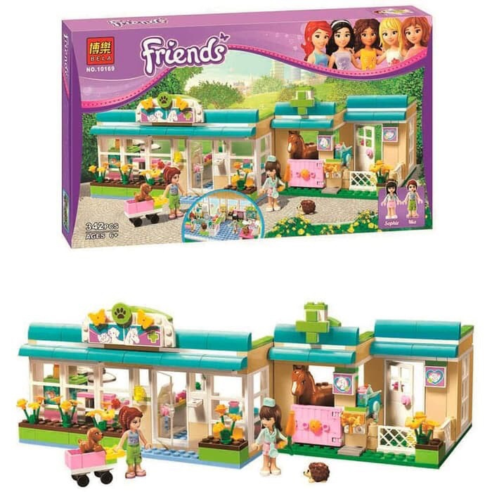 Jual Lego Friends Heartlake Pet Hospital Bela10169 Babiegshop