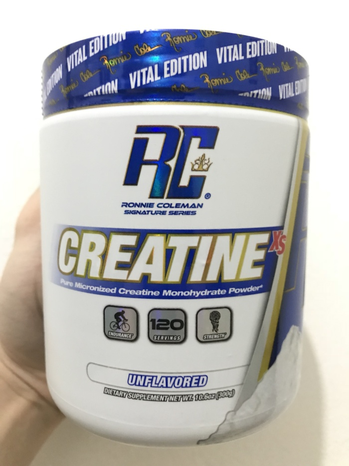 harga Creatine-xs 300gr 120 serving! dymatize ronnie coleman! Tokopedia.com