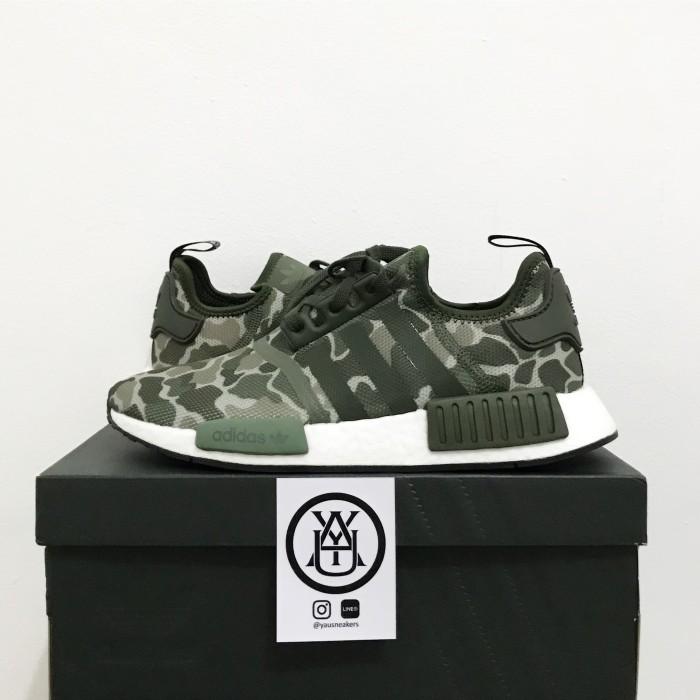 watch 857a9 1a482 Jual Adidas NMD R1 Black, Duck Camo Original - DKI Jakarta - @yausneakers |  Tokopedia