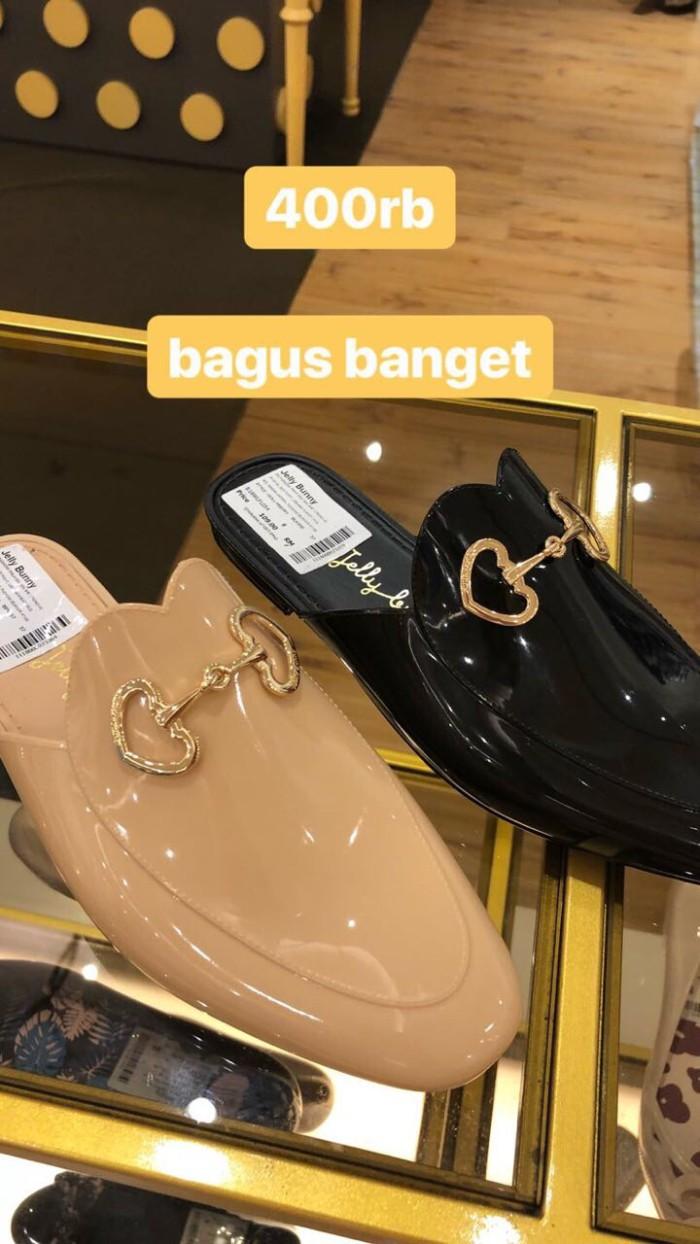 jelly bunny shoes malaysia sepatu sendal look like mules gucci