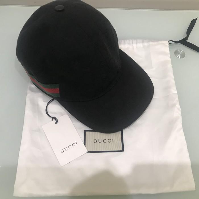 Jual Gucci Cap Black - SbyStuff  36242e3d352