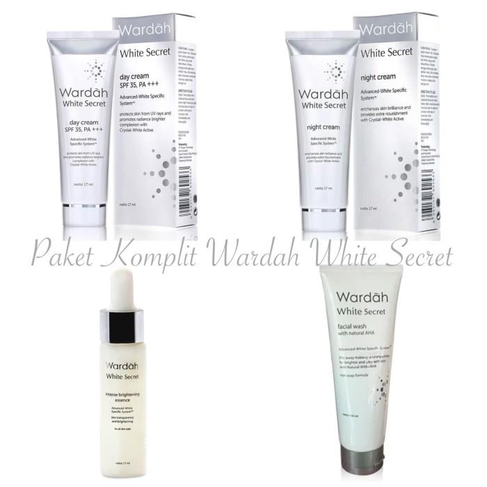 Foto Produk Paket Komplit Wardah white Secret Whitening Series dari Nate&Molly