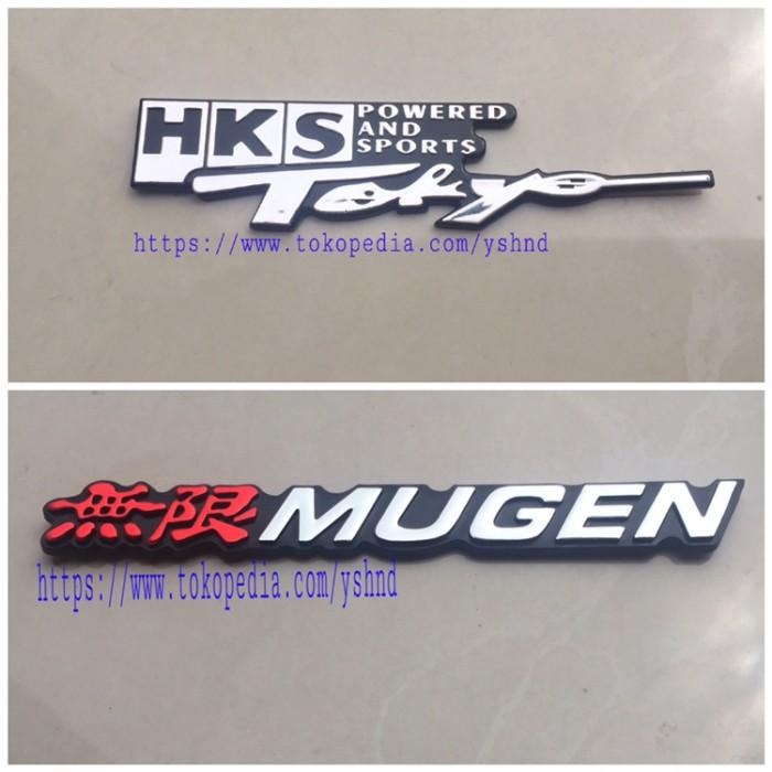 Foto Produk Emblem HKS TOKYO // Emblem MUGEN dari Yoshindo