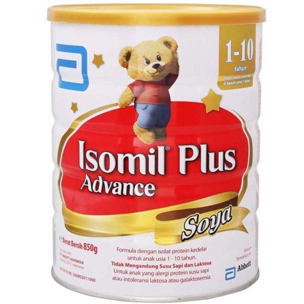 Foto Produk Susu Isomil Plus Advance Soya ukr 850 gr dari TokoKen0924