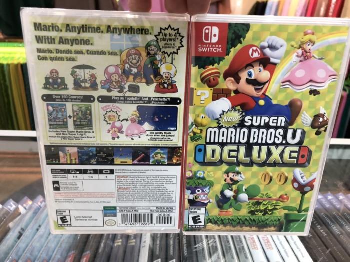 Jual Nintendo Switch Game - Super Mario Bros U Deluxe - Jakarta Barat -  Madewell | Tokopedia