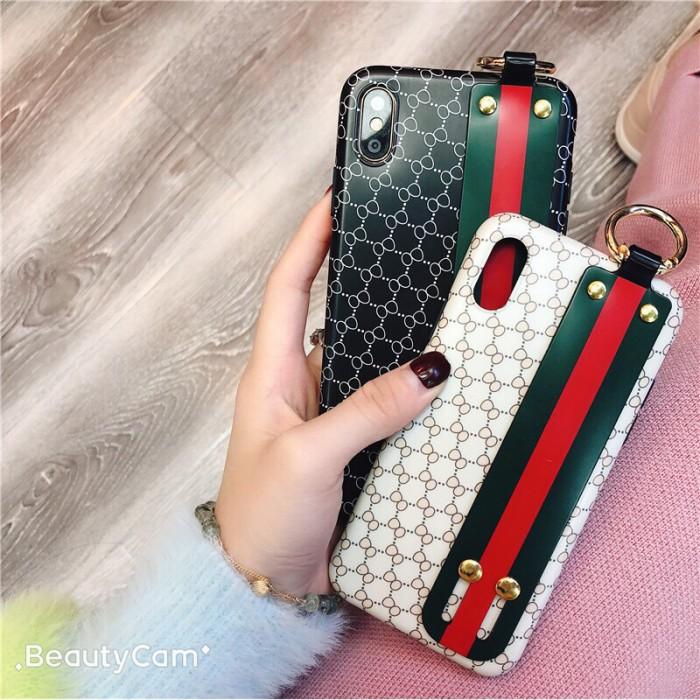 4f78ed4d6 Jual Case strap gucci iphone 6 6s 6plus 6splus 7 7plus 8 8plus x xs ...