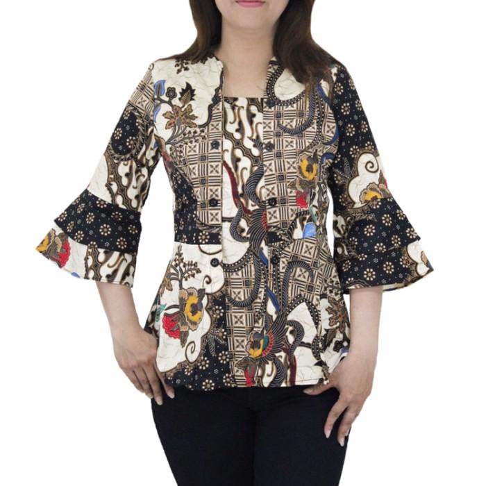 Jual Baju Batik Kebaya Wanita Lengan Panjang Terbaru U Atasan Kerja Kantor Jakarta Utara 35an Tokopedia