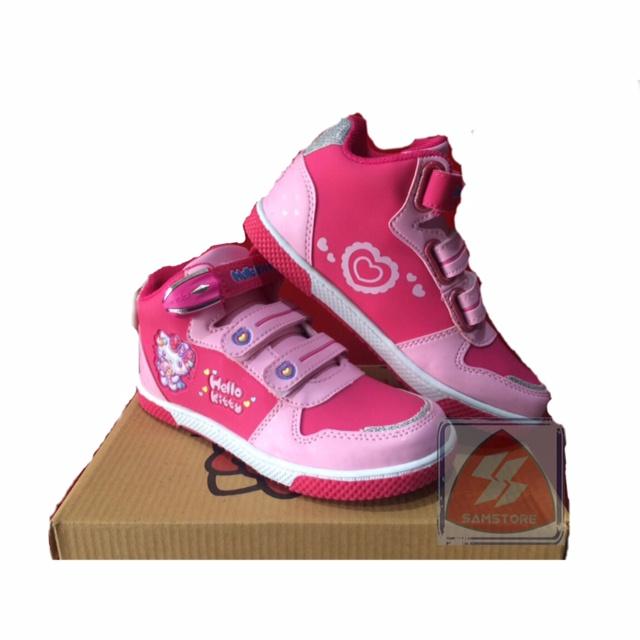 harga Sepatu anak modis keren ando fancy doll hello kitty fusia Tokopedia.com