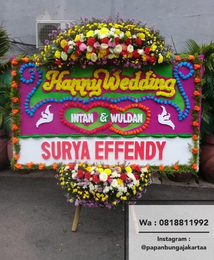 Jual Karangan Bunga Wedding Pernikahan Full Bunga Tangerang Depok Bandung Jakarta Barat Papan Bunga Jakartaa Tokopedia