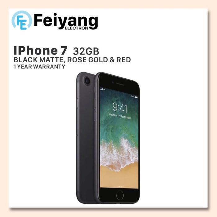 APPLE IPHONE 7 32 GB FU GSM GARANSI DISTRIBUTOR PLATINUM 1 TAHUN - ROSEGOLD 20254c0333