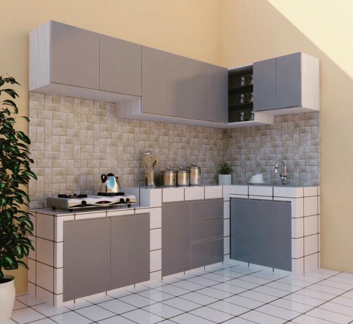 Jual Modern Kitchen Set Aluminium Jakarta Selatan Dapur