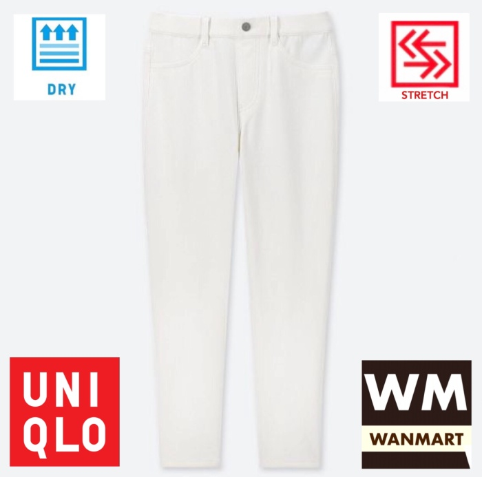 Jual Uniqlo Women Pants Celana Legging Crop Wanita Ultra Stretch White Kota Depok Wan Mart Tokopedia