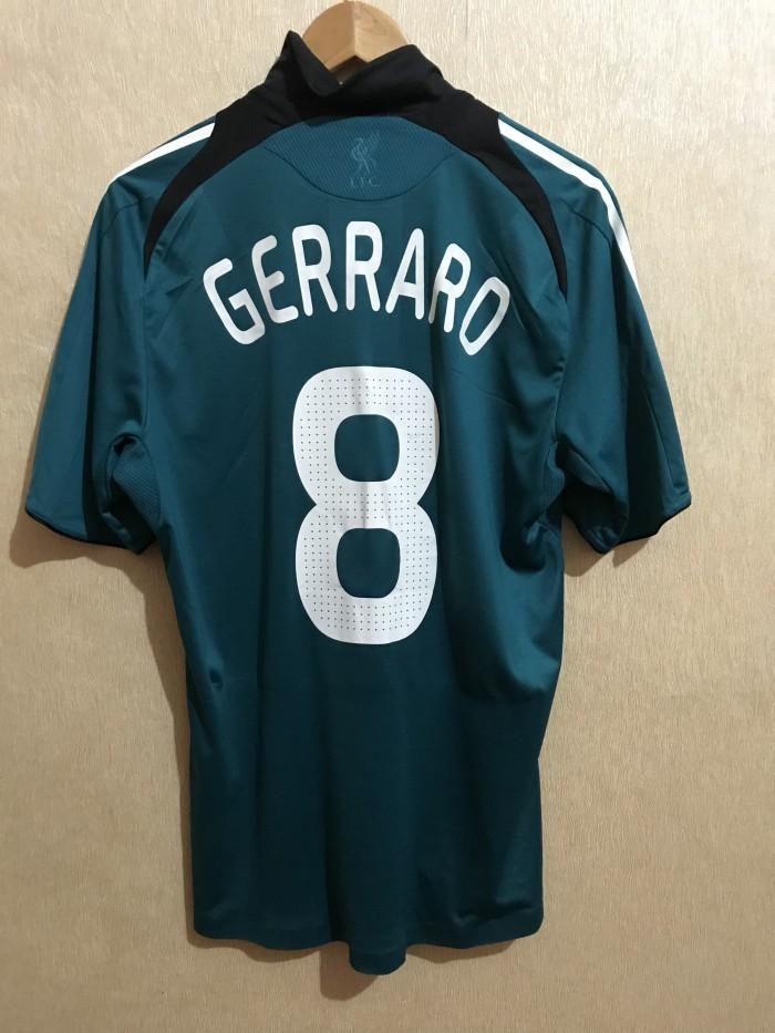 5ac897e1532 Jersey Original Player Issue Formotion Liverpool 3rd 2008 09  8 Gerrar