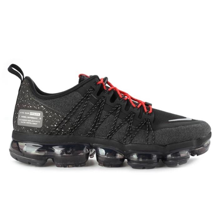 2733c19750425 Jual Nike Air Vapormax Run Utility (Black Reflect Silver Anthracite ...