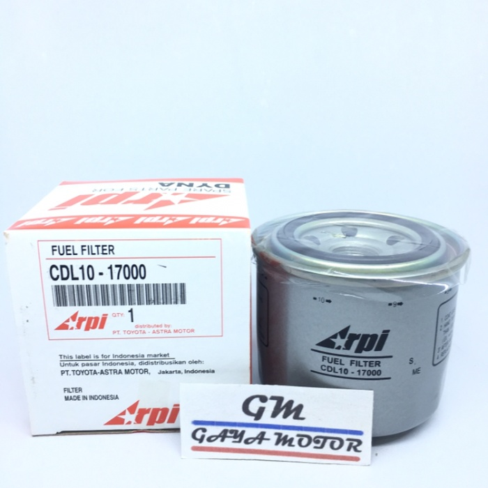 harga Filter solar atas (fuel filter) dyna 125ps - hino dutro cdl10-17000 Tokopedia.com